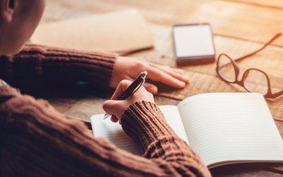 Escritura terapeutica: Por qué escribir puede ayudarte con tu ansiedad