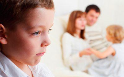 Los celos en los niños y niñas