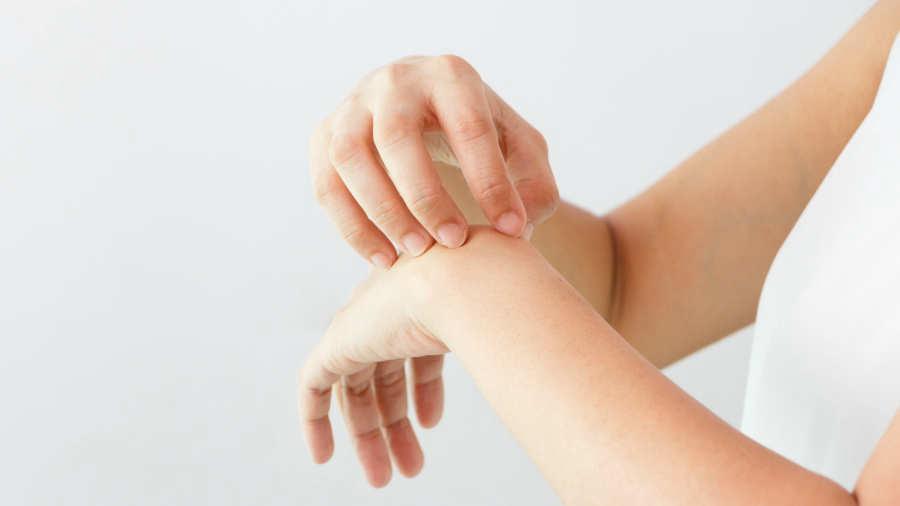 ansiedad y la piel