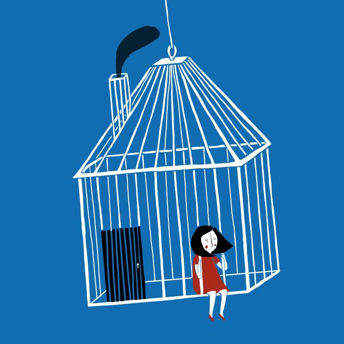 Ilustración de Paloma Canónica